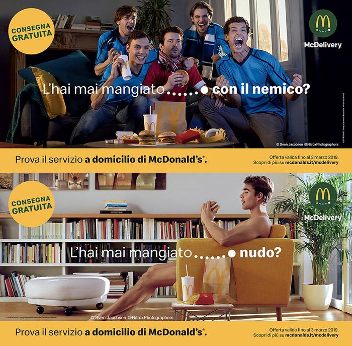 Mcdelivery Hai Mai Mangiato Nudo