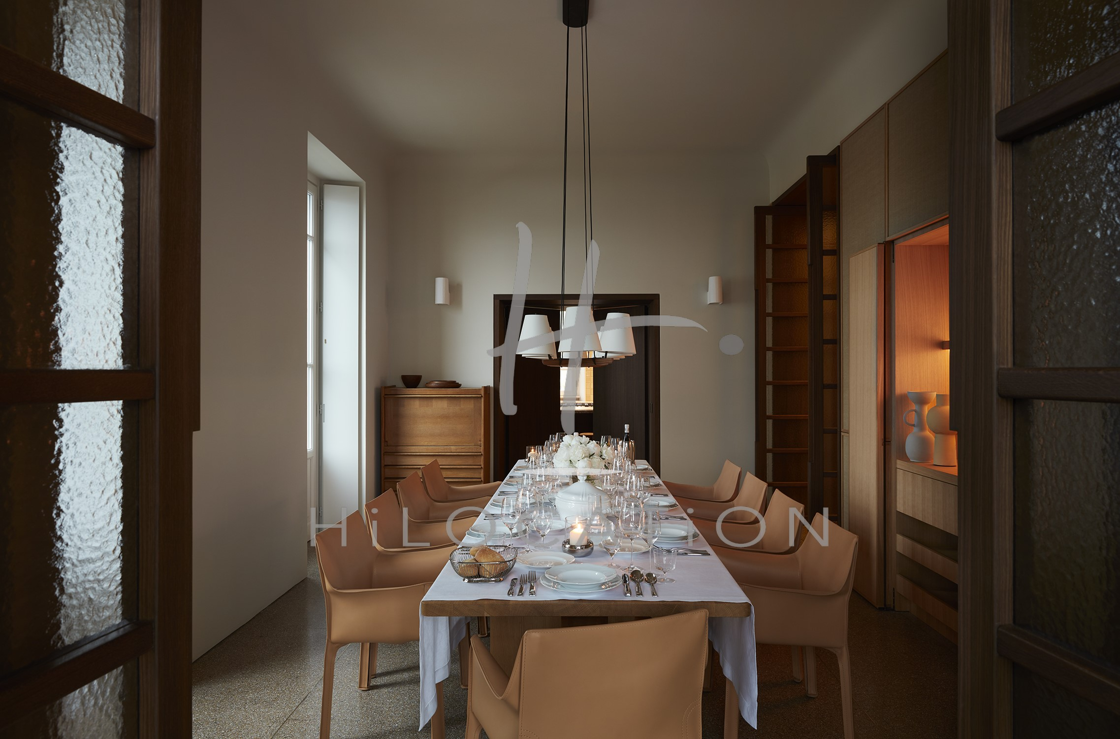 Villa Peduzzi  Pigra Lake Como Ground Floor Formal Dining Room