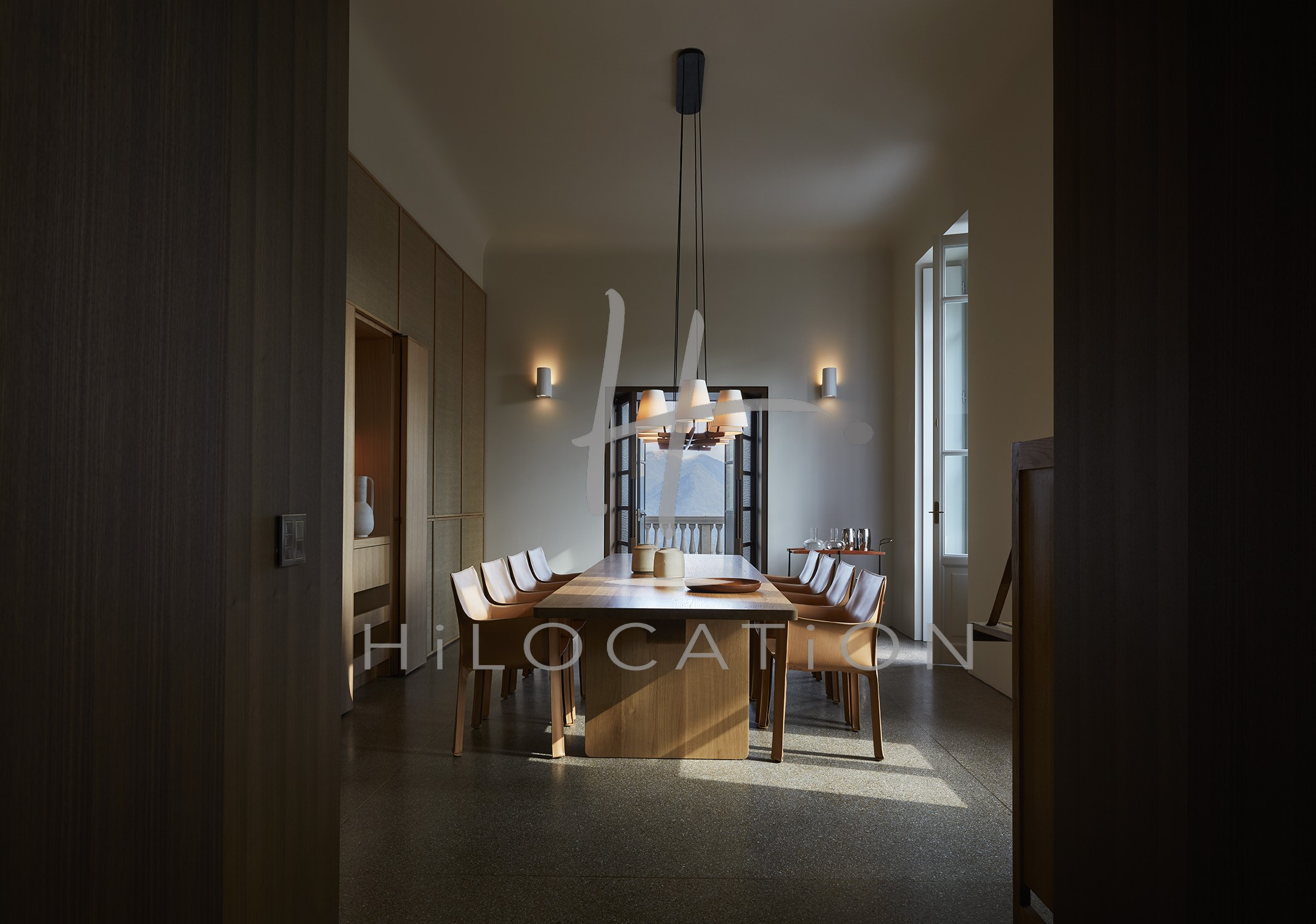 Villa Peduzzi  Pigra Lake Como Ground Floor Dining Room