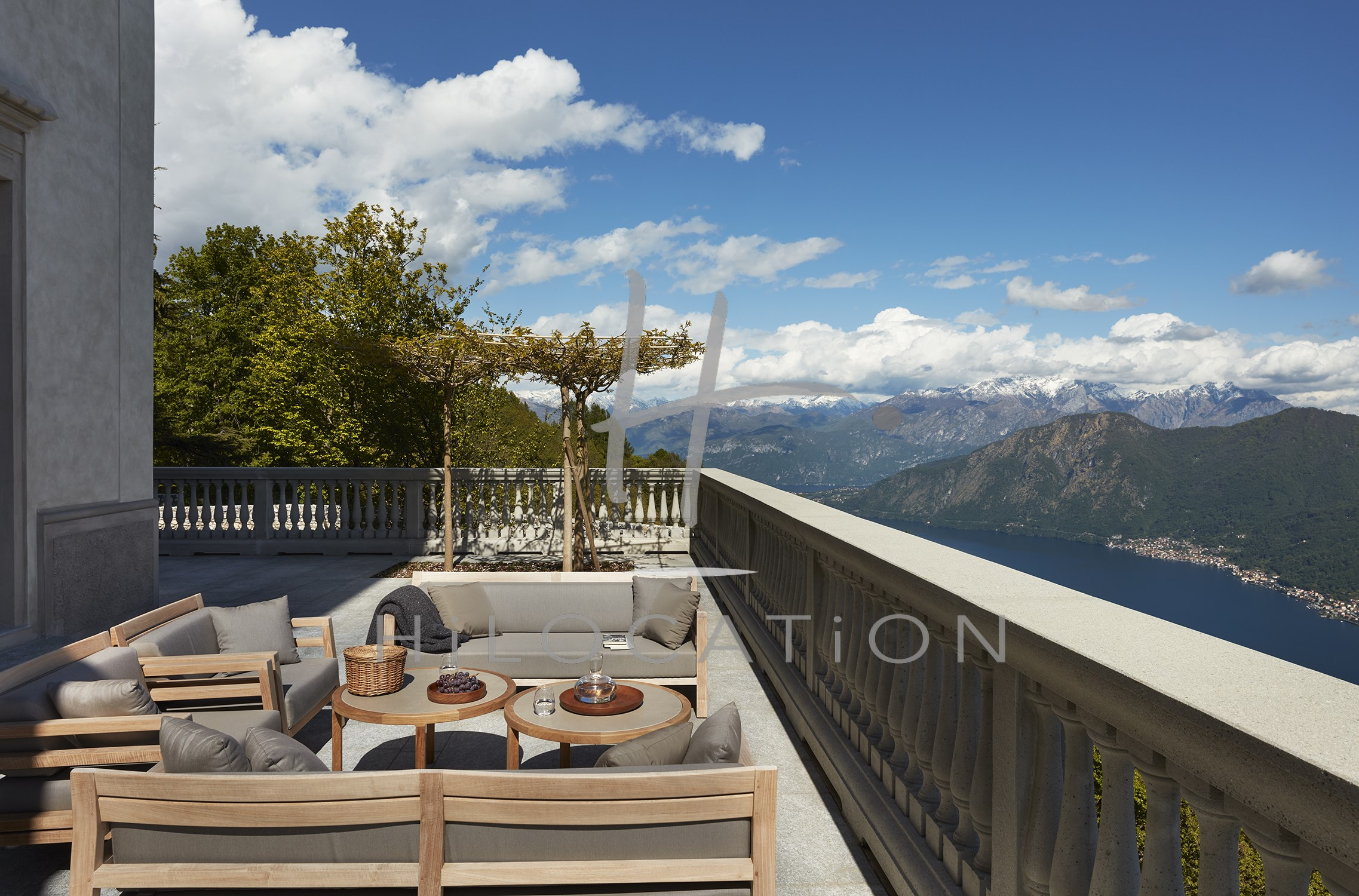 Villa Peduzzi  Pigra Lake Como Ground Floor Outdoor Balcony